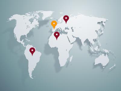 Mapa Delegaciones